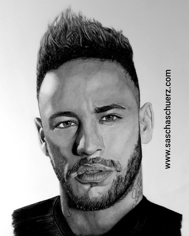 Neymar da Silva Santos Júnior by saschaschuerz